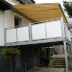 Balkone mit Überdachung