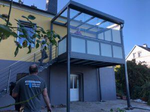 Aktuelle Balkon Installationen